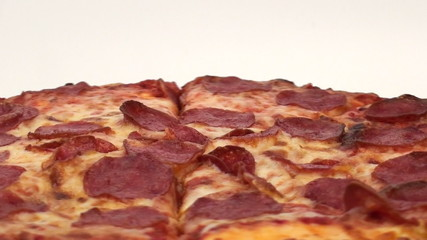 Pepperoni pizza loop background - HD