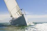 Fototapeta żeglarstwo - łodzie - Jacht
