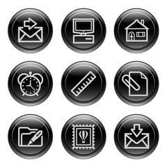 Black button for icon 27