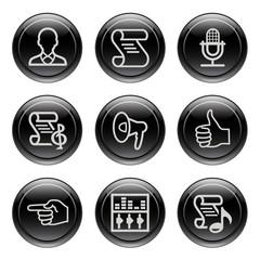 Black button for icon 31