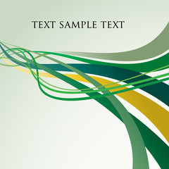 ector abstract backgrounds with dynamic green lines