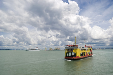 The Penang Ferry Boat
