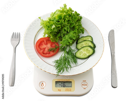 Weight loss computer calculated diet result