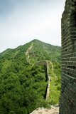 the great wall, fantastic view of ancient china poster