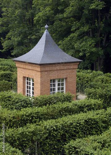 Fotobehang Tuin jardin à la Française