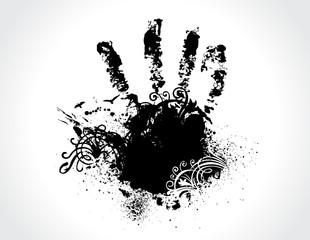 stamp of hands