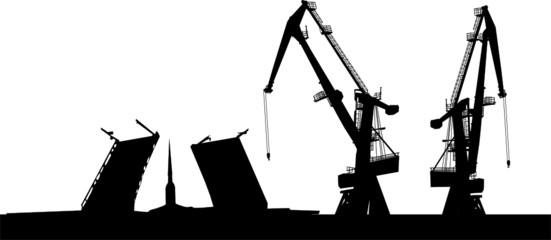 dock silhouette