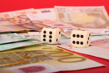 Euros and Dice cubes