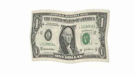 Fahne 1 Dollar