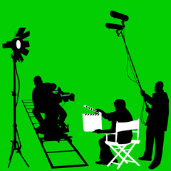 film set vector