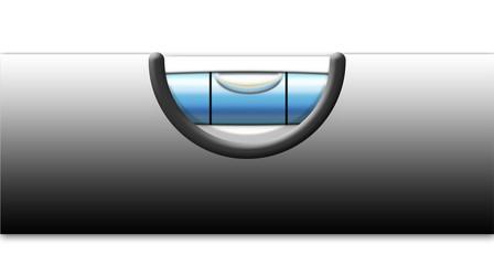 Wasserwaage Alu_Blau