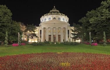 Romanian Athenaeum-night image