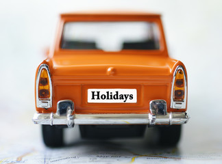 Holidays with car