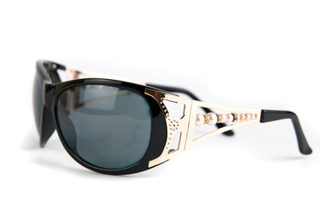 Female modern sunglasses