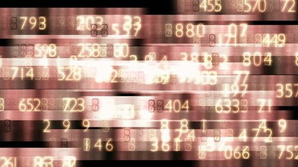 sepia Zahlengewirr