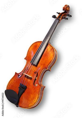 Leinwandbild Motiv Geige