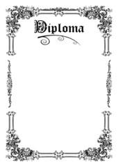 Diploma - Universidade - Escola -Finalista