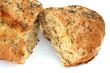 du pain aux céréales complètes et aux graines de pavot