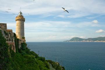 Leuchtturm auf Elba, Protoferreio
