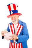 Uncle Sam - US Savings Plan poster