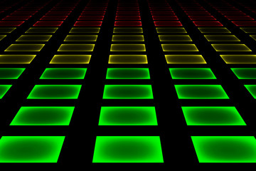 Abstract equalizer bar background