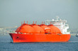 Oil and gas industry – liquefied natural gas tanker LNG - 14754863