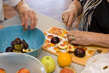 cuisine à la retraite
