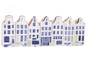 Porcelain dutch houses