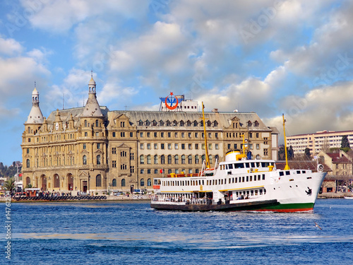 Haydarpasa station building.  - Istanbul - 14761204