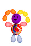 merry manikin from balloons poster