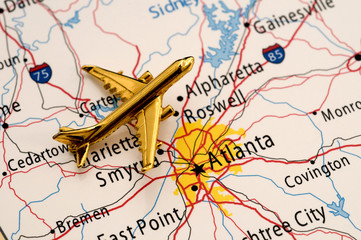 Plane Over Georgia