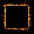 fiery sign
