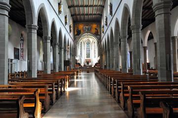 A view of the Ravensburg catholic town church