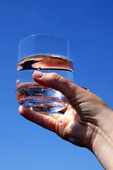 Trinkwasser im Glas