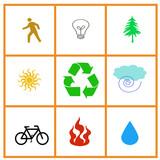 resource symbols poster