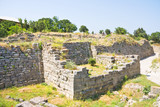 Ancient walls of legendary Troy city