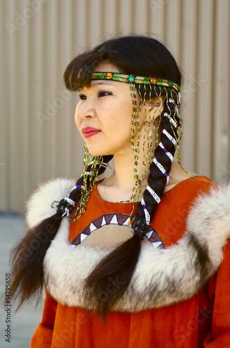 Beautiful chukchi woman