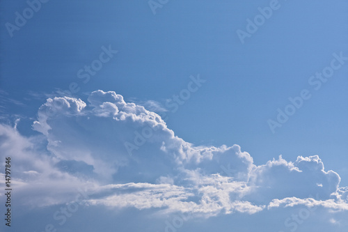 canvas print picture cloud