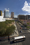 Downtown Tucson with Bus