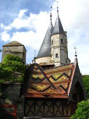 Le château de La Rochepot (Bourgogne)