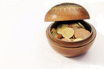pot avec argent