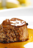 Hot Meat Dishes - Veal Medallions poster