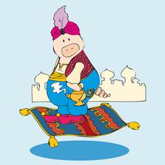 Aladdin pig