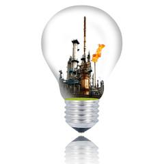 lampadina raffineria