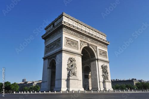 Arc de Triomphe - Place de l'étoile - PARIS (France) 02