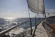 Leinwandbild Motiv Segelschiff auf See