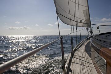 Segelschiff auf See