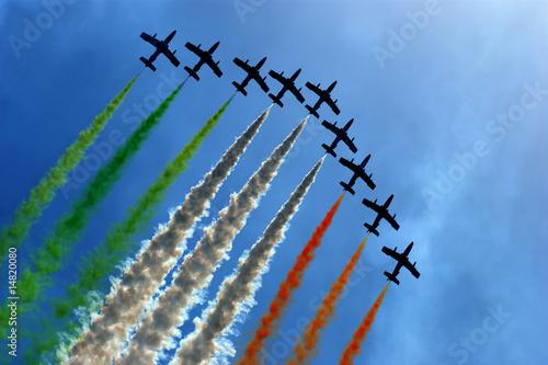 Fotobehang Luchtsport acrobazie
