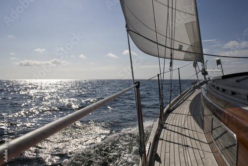 Fototapeta Segelschiff auf See