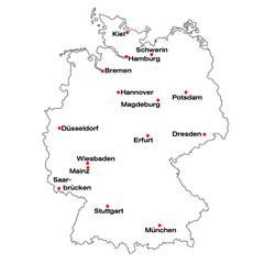 Deutschlandkarte 06